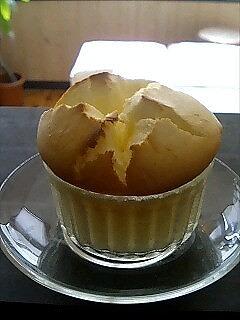 清水白桃のヨーグルトスムージー